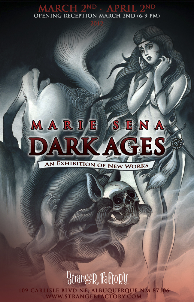 ... Blood Puddin' & Marie Sena's 'Dark Ages' March 2