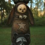 Bunny & raccoon