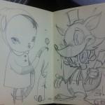 KOBP collab sketch