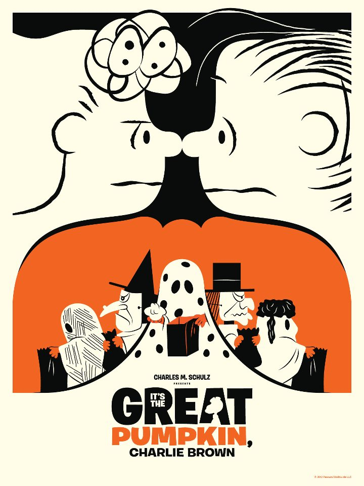 """It's The Great Pumpkin Charlie Brown Quotes I Got A Rock """"It's The Great Pumpkin Charlie Brown"""" Print ."""