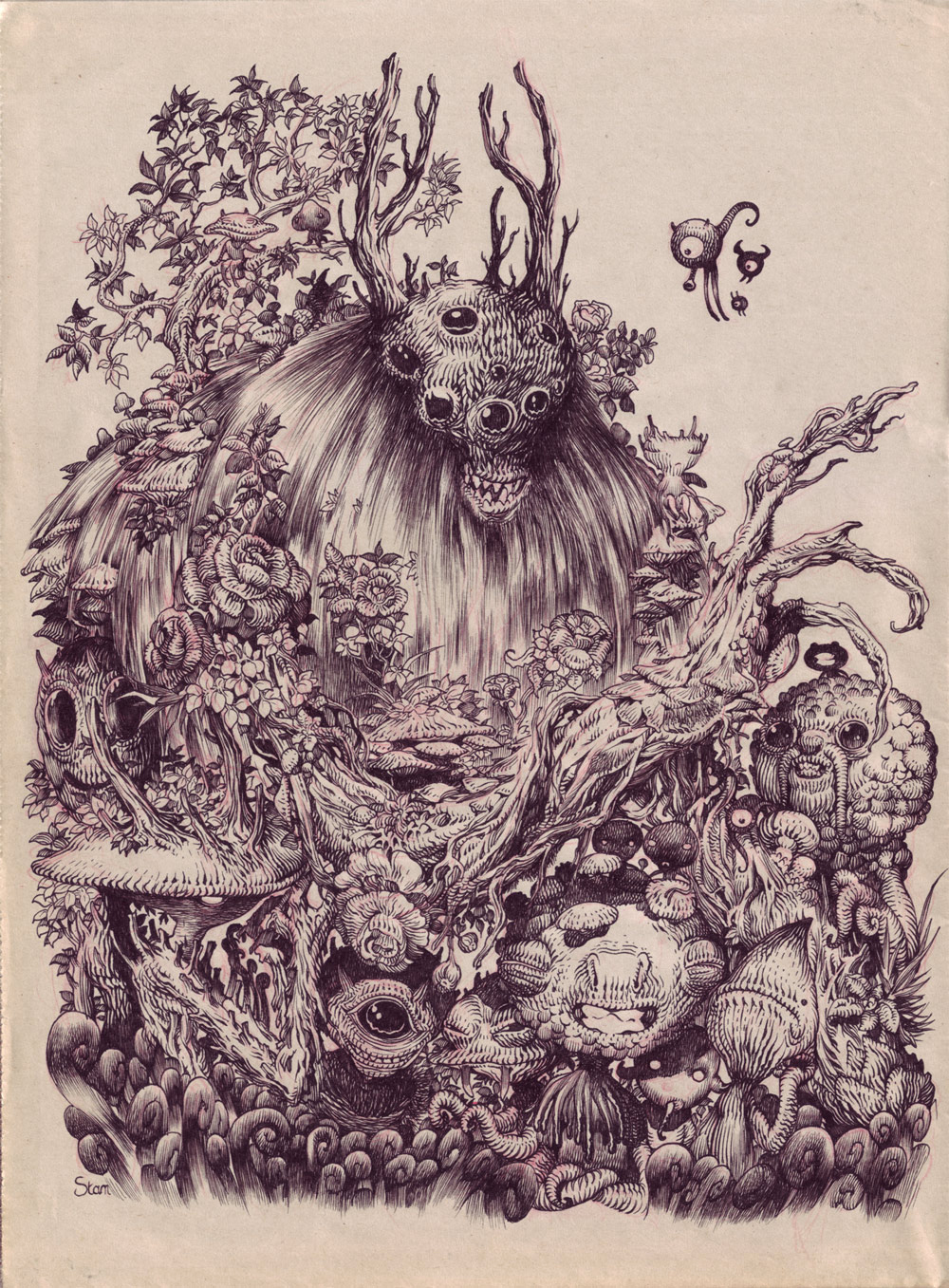 """Forest Monsters"""