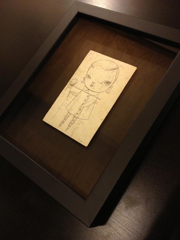 Brent Maloney Kathie Olivas Sketch 1