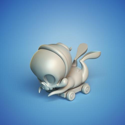 Skelve Pull toy