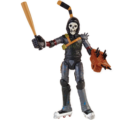 Casey Jones, from the new Playmates TMNT line.
