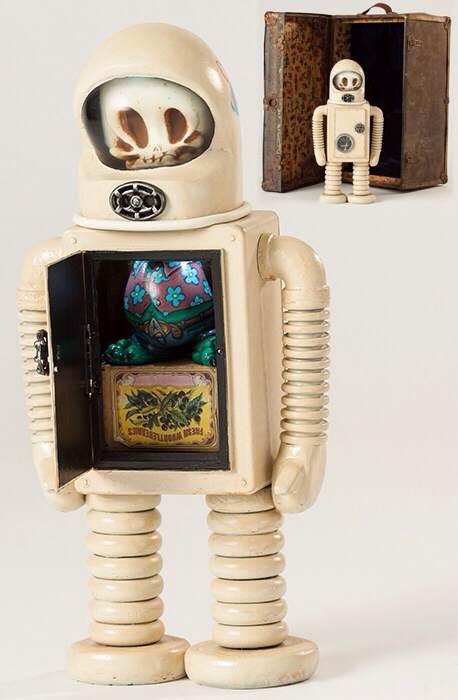 Skelve Robot