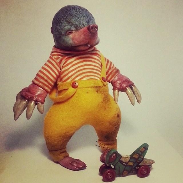 A delightful mole, by Carisa Swenson