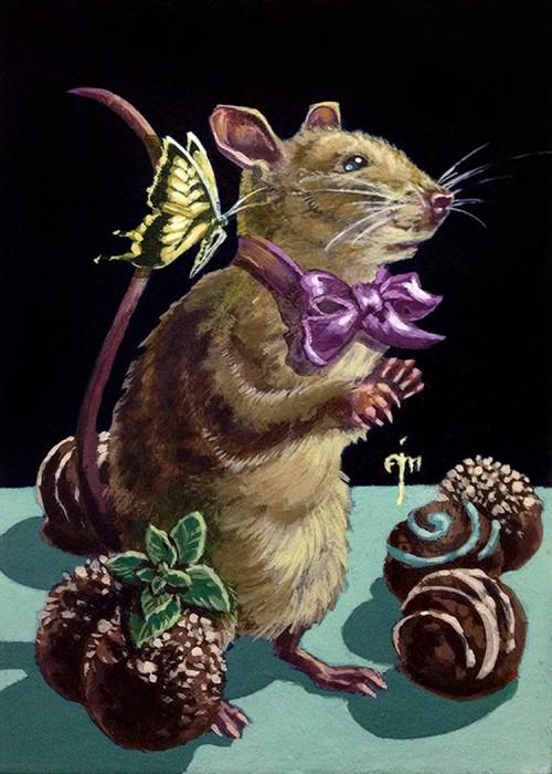 Mint Chocolate Truffle Mouse
