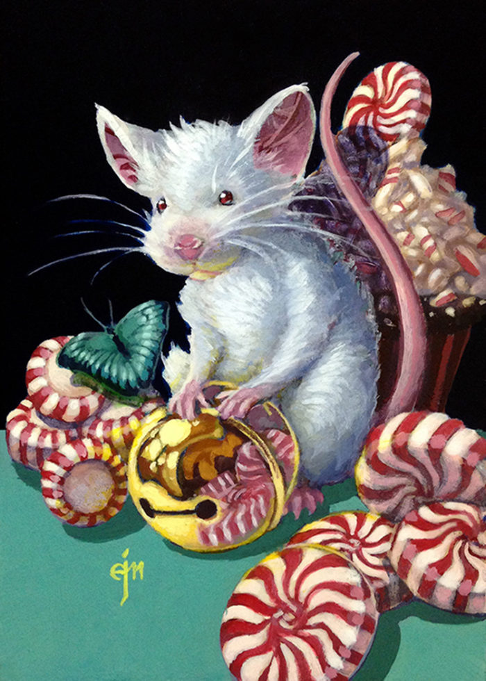 Peppermint White Gold Mouse