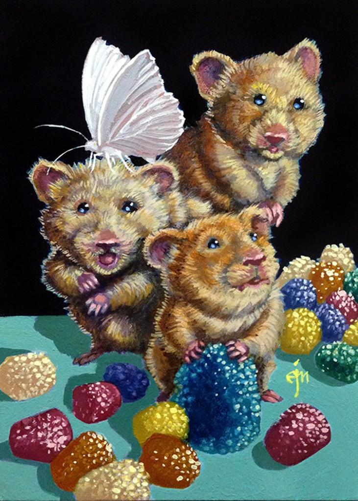 Sugartopped Gumdrop Hamsters