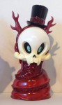 T+CP Japanese Sofubi: Brandt Peters Heathen Snake Skelve Red Glitter