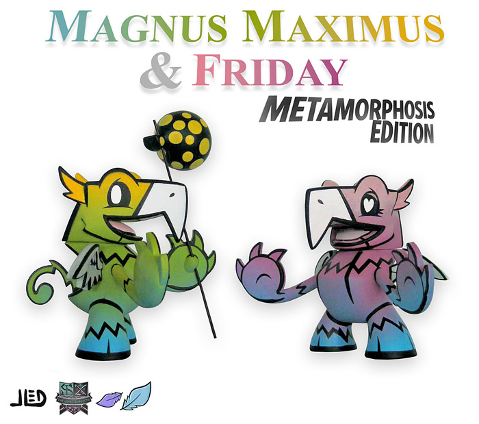Magnus Maximus And Friday- Gradient Edition