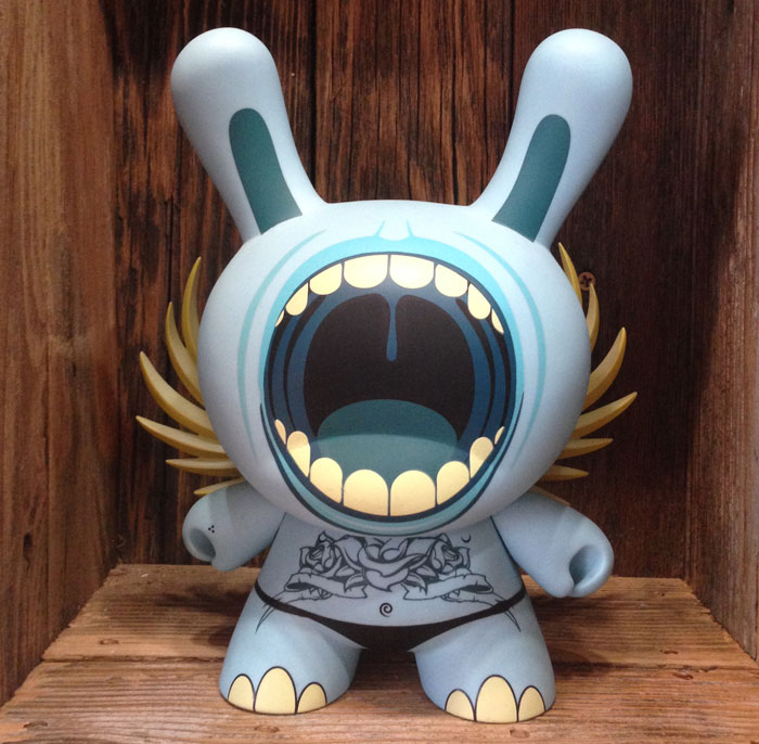 Deph Big Mouth Blue Dunny 8 inch