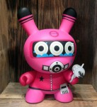 Dalek Diver Pink Dunny 8 inch