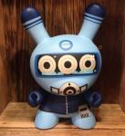 Dalek Diver Blue Dunny 8 inch
