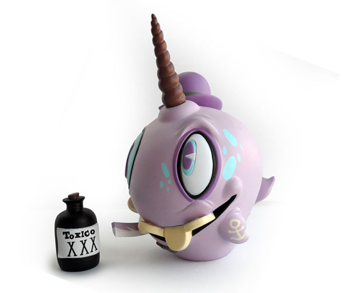 (Purple) Mortimer the Mortician - ARTOYZ