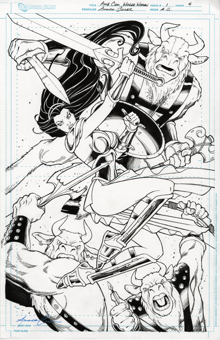 Wonder Woman Issue 1 Page 4