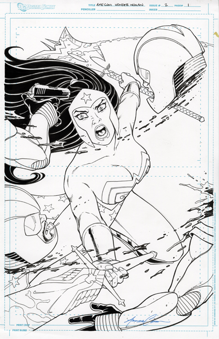 Wonder Woman Issue 2 Page 1