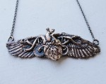 Heart Wings DNS Necklace