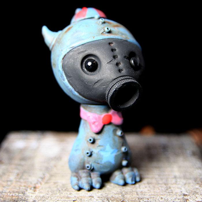 Dark Blue Gasmask Dexter Kuma