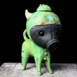 Green Gasmask Dexter