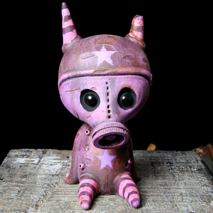 Purple Gasmask Ash 1