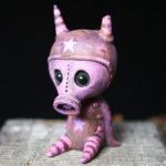 Purple Gasmask Ash