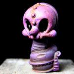 Purple Greeter Heathen