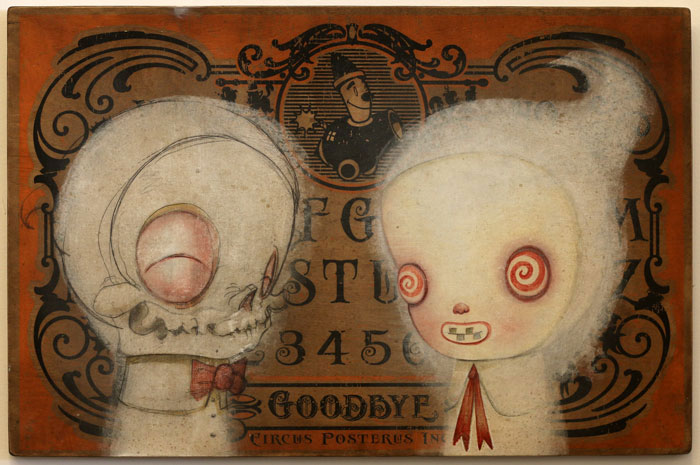 Kathie Olivas and Brandt Peters – Conjured Spirit Board | Circus Posterus
