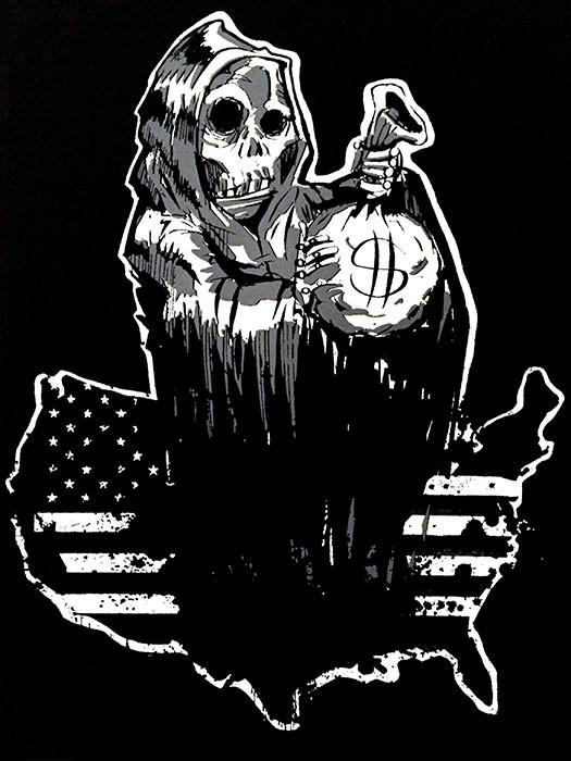 ReaperJamesBlack13x19