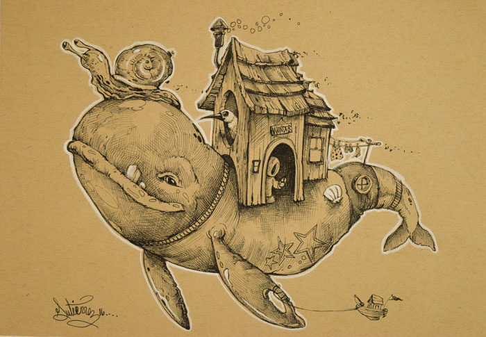 Whale-house