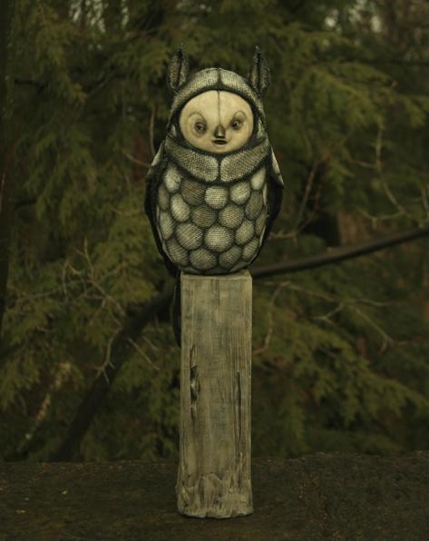 White Owl by Scott Radke