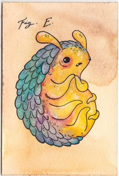 nervous scaleybug painting