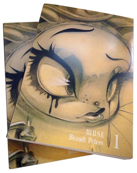 MUSE 1: Brandt Peters Sketchbook (Vol 1)