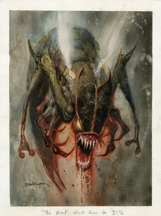 The Brood Watercolor